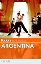 Fodor's Argentina 2012, , Good Condition, Book