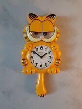 garfield clock pendulum sunbeam original vintage clock