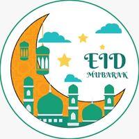 White /& Metallic Gold Striped Eid Cracker Muslim Islamic Gift Favour Boxes