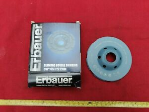 Erbauer Double Grinding Cup 105 x 22.23mm For Concrete Ref 58310 New Old Stock