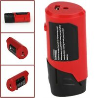 Akku Batterie Adapter Für Milwaukee M12 49-24-2310 48-59-1201 USB Power Source