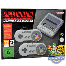 SNES Mini & NES Classic BOX PROTECTOR Strong 0.5mm Display Case Super Nintendo