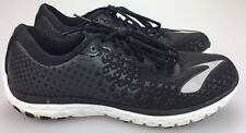 d014c6d851219 Brooks PureFlow 5 Running Shoes Womens Size 11 Black White Athletic Sneakers