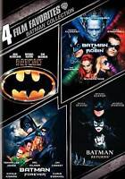 4 Film Favorites: Batman (DVD, 2009, 2-Disc Set) New, Sealed