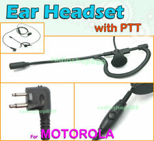 Ear Headset 4-052M with PTT FOR FD-150A FD-160A FD-450