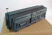 HOn3 MRGS kit #100 D&RGW narrow gauge singledeck stockcar, no trucks,