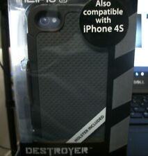 Incipio iPhone 4 & 4s Hard Shell Shockproof Case Matte Black/Gray