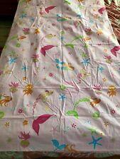 Pottery Barn Kids Mermaid TWIN Duvet Cover  pink NWOT
