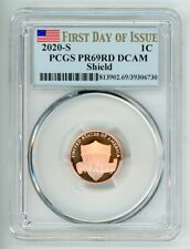 2020 S LINCOLN CENT 1C PCGS PR69RD DCAM FIRST DAY OF ISSUE 39306730