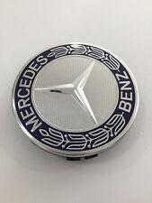 Mercedes-Benz Radnabenabdeckung im Klassischen Roadster Design in Blau