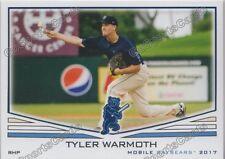 2017 Mobile BayBears Tyler Warmoth RC Rookie Los Angeles Angels