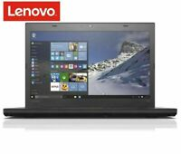 "Classic Laptop Lenovo  IBM T460 14"" Intel i7-6600U 2.60Ghz 8GB RAM 250gb SSD"