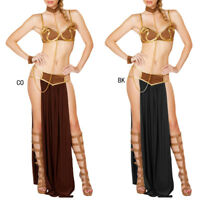 Tankoo Women's Sexy Costume Princess Leia Slave Miss Manners Uniform Cosplay