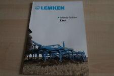 128052) Lemken Intensiv-Grubber Karat Prospekt 03/2011