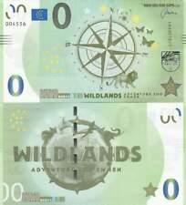 Biljet billet zero 0 Euro Memo - Wildlands Adventure Zoo Emmen (048)