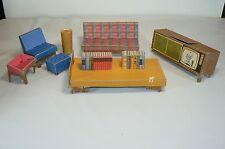 Vintage 1962 Mattel Barbie Dream House #816 Furniture Accessories