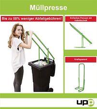 UPP Müllpresse / Papierpresse/ Abfallpresse/ Müllverdichter/ Mülltonnen Presse