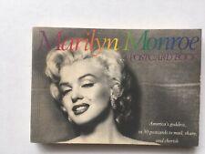 Marilyn Monroe A Post Card Book 30 postcards 1989 Hollywood