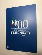 2021 Poste Italiane Folder Filatelico Centenario Milite Ignoto 1921 - 2021
