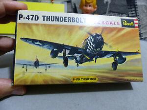 REVELL - 1:72 - P-47 THUNDERBOLT -USA -H 613 -Kit nuovo e perfetto -