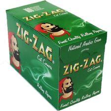 100xPks de Cigarette Zig Zag Vert Papiers Rizla Boîte Complète