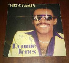 "Ronnie Jones 45 Giri "" VIDEO GAMES-WE MAKE THE MUSIC "" WEA"