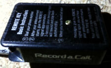 Record A Call Remote Key - Frequency 952.5 - Telephone Answering Systems