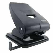 Rapesco 835-P Noir Heavy Duty 2-Hole Punch Métal Noir PF835PB2 [HT02801]