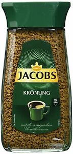 Jacobs Kronung 100% Instant Coffee 200 Gram / 7.05 Ounce Pack of 2