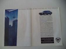 advertising Pubblicità 1986 LANCIA PRISMA