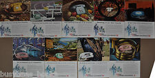 1960-61 GENERAL TELEPHONE advertisements x9, GT&E, rotary dial phone,  Starlite