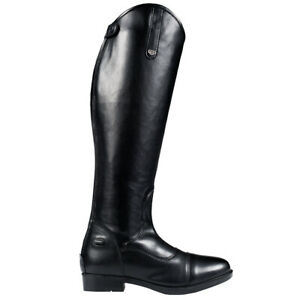 C150 Regular Horze Rover Dressage Synthetic Leather Leg Comfort Tall Boots Black