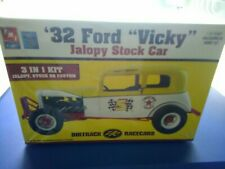 Amt DirtTrack Racecars 32 Ford Vicky Jalopy Stock Car 1/25 Sealed