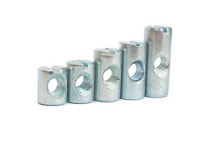 New Replacement HIGH Quality M6 Bed Bolt Barrel Nuts