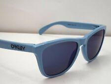 Authentic Oakley OO9013-36 Frogskins Baby Blue Ice Iridium Sunglasses