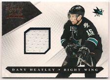 Dany Heatley 10-11 Panini Luxury Suite Game Worn Jersey /525