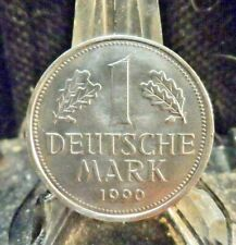 CIRCULATED 1990G  1 MARK WEST GERMANY COIN(62019)!.....FREE DOMESTIC SHIPPING!!!