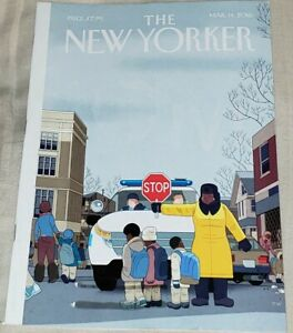 The New Yorker Magazine March 14 2016 Special Issue Crosswalk StopFULL ISSUE