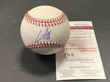 Ian Happ Chicago Cubs Autographed Signed Baseball JSA WITNESS COA IMPERFECT 3