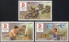 Moldova 2008 Olympic Games/Olympics/Sports/Cycling/Boxing/Bikes 3v set (n44922)