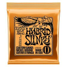 Ernie Ball 2222 Hybrid Slinky 9-46 Electric Guitar Strings Free Shipping in US