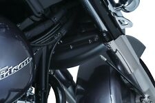 Kuryakyn 1901 Lower Triple Tree Wind Deflector for Victory, Satin Black