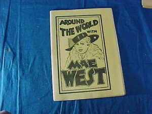 1930s TIJUANA BIBLE RISQUE Comic Book AROUND THE WORLD with MAE WEST