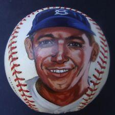 GIL HODGES  HAND PAINTED  MLB  BASEBALL
