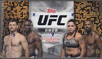 2020 Topps UFC Hobby Box SEALED NEW 24-packs MMA 2 Auto Autographs Per Box