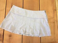 NWT LILU Light Purple Lavender corduroy pleated mini skirt Junior size 1 RV $29