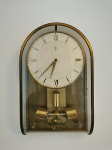 VERY RARE JUNGHANS ATO BRASS WALL CLOCK