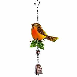 Fountasia RSPB Garden Bells - Robin - british bird wind chime