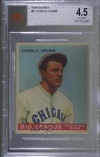 1933 Goudey Big League Chewing Gum R319 Charlie Grimm #51 BVG 4.5 Rookie
