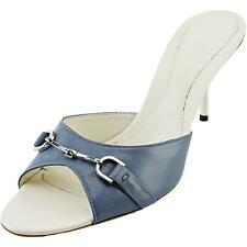 Gucci 100% Leather Upper Material Mules for Women